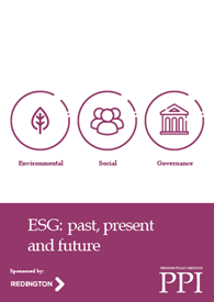 PPI ESG: past, present and future