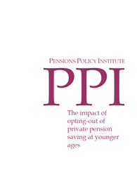 The impact of opting-out of private pension saving at younger ages