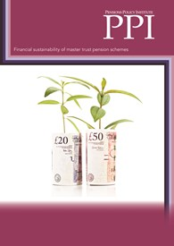 Financial sustainability of master trust pension schemes
